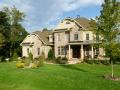 American upscale suburban house