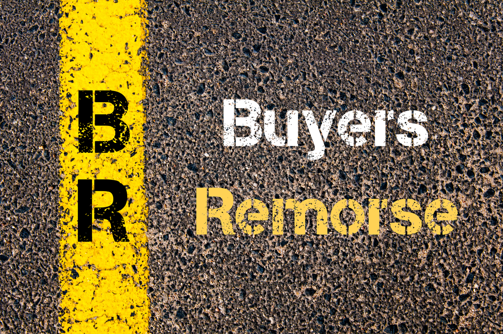 get past home Buyers Remorse