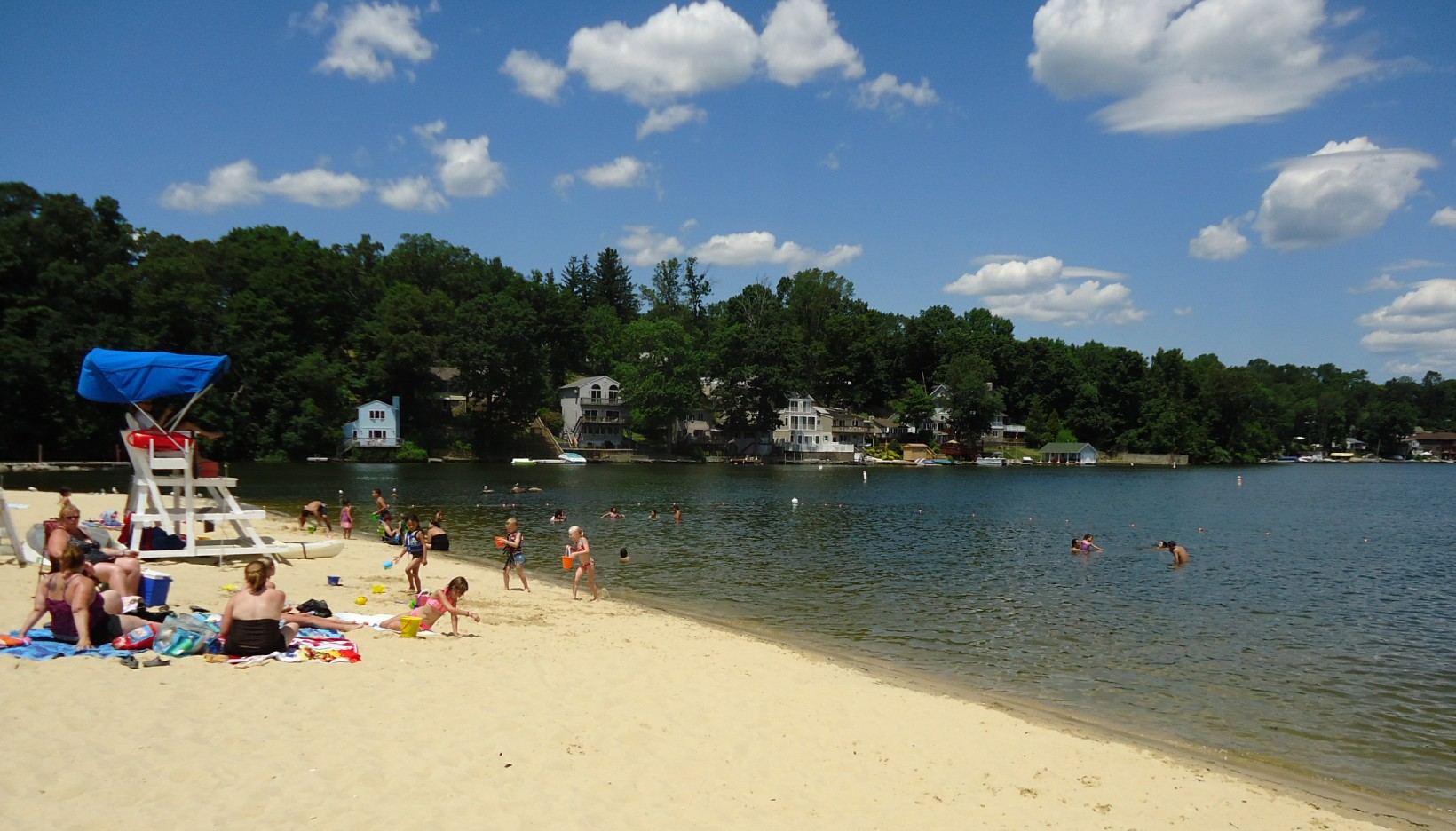 kid-friendly lakes in New Jersey