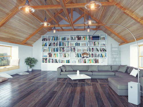 How To Design Library Walls For Your House
